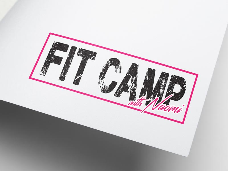 Logo design for Fit Camp with Naomi